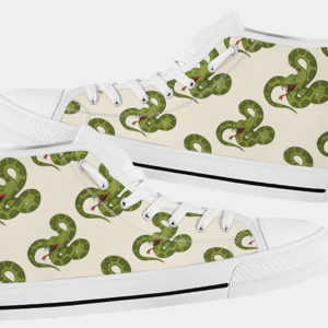 Snake Shoes Cute Snake Shoes Snake Hi Tops 7 Birthday Gifts Party Favors Custom Gift for Wife Girlfriend 753481254 7710