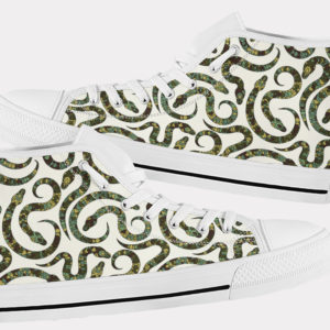 Snake Shoes Cute Snake Shoes Snake Hi Tops 8 Birthday Gifts Party Favors Custom Gift for Wife Girlfriend 753481290 7672