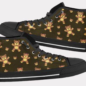 Teddy Bear Shoes Cute Bear Shoes Teddy Bear Hi Tops 6 Birthday Gifts Party Favors Custom Gift for Wife Girlfriend 767371915 7026