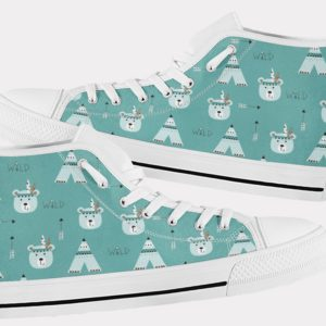Teddy Bear Shoes Cute Bear Shoes Teddy Bear Wild Shoes Birthday Gifts Party Favors Custom Gift for Wife Girlfriend 767372145 6912