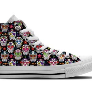 Calavera Shoes Sugar Skull Shoes Day of the Dead Shoes Birthday Gifts Party Favors Custom Gift for Wife Girlfriend 712700672 5391