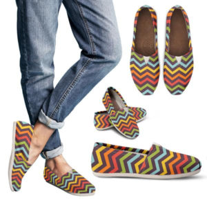 Women Casual Chevron Shoes 709815076 5274
