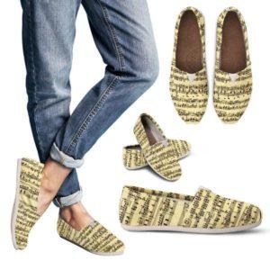 Sheet Music Design Women Casual Shoe 724200829 5003