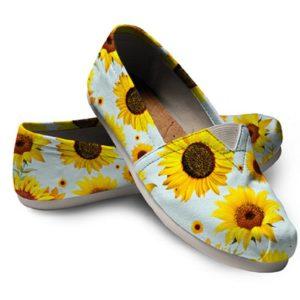 Sunflower Women Casual Shoes sun flower shoes floral shoes 724201733 4952