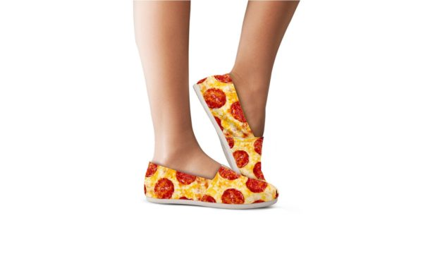 Pizza Women Casual Shoes Pizza Shoes Pepperoni Shoes 710343222 4910