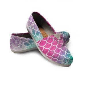 Mermaid Women Casual Shoes Mermaid Skin Shoes 724203433 4887