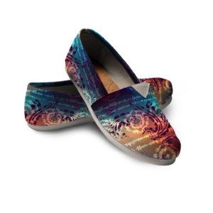 Mandala Shoes Tie Dye Shoes Rainbow Shoes Festival Women Casual Shoes 14 758520204 3933