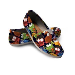 Cute Monsters Shoes Monsters Shoes Microbe Shoes Festival Women Casual Shoes 772447745 3849
