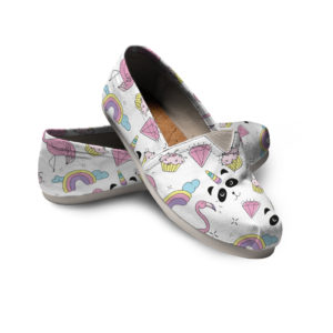 Unicorn Panda Shoes Sweat Dreams Shoes Rainbow Shoes Festival Women Casual Shoes 772449693 3801