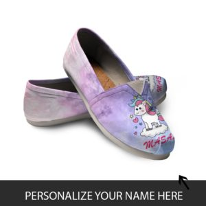 Personalized Women Casual Shoes Unicorn Shoes Your Name On the Shoe 772456209 3727