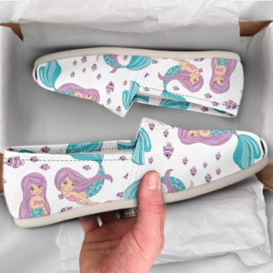 Cute Mermaid Shoes Mermaid Shoes Cute Shoes Women Canvas Shoes Womens Slip Ons Women Casual Shoes Mermaid Gift Idea 770997443 3528
