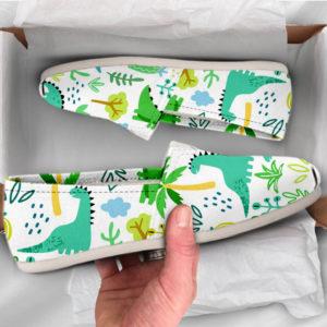Cute Dinosaur Shoes Womens Shoes Cute Shoes Canvas Women Shoes Girls Slip Ons Casual Shoes Dinosaur Gifts Dinosaur Print 761307298 2615