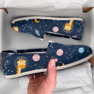 Cute Womens Shoes Giraffe Shoes Cute Shoes Canvas Women Shoes Girls Slip Ons Casual Shoes Giraffe Gifts Giraffe Print 761308844 2591