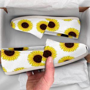 Casual Shoes Sunflower Shoes Sunflower Casual Shoes Low Top Shoes Summer Shoes Women 39 s Casual Shoes Floral Shoes 735711936 2003