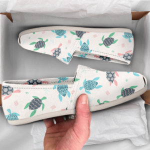 Cute Turtle Shoes Womens Shoes Cute Shoes Canvas Women Shoes Girls Slip Ons Casual Shoes Turtle Lover Gifts Turtle Print 774923585 1760