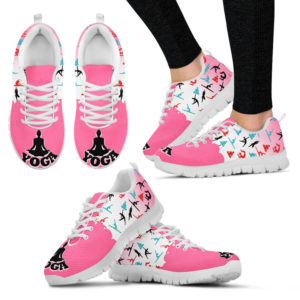 Yoga Pattern Pink - Sneaker@ shoppingmylife rpow232@sneakers 225141