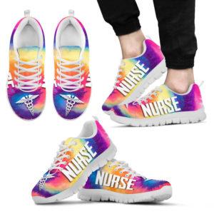 Nurse Tie Dye Shoes@ shoppingmylife tkjskjmc@sneakers 224700