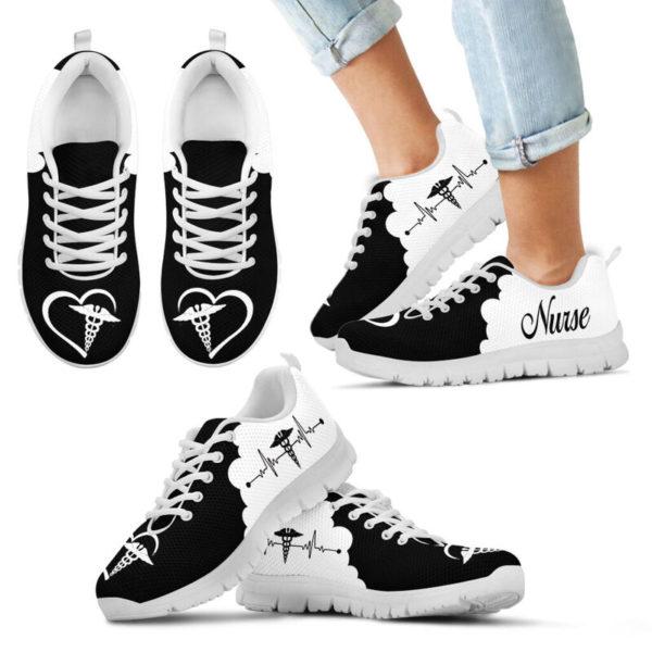 Nurse Heartbeat Sneaker@ shoppingmylife eryuhfd22@sneakers 223000