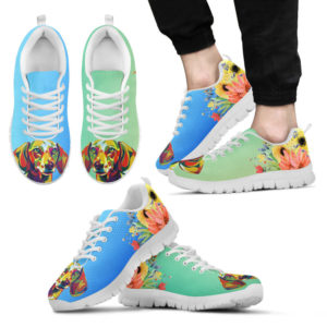 Dachshund Coloful Shoes@ shoppingmylife davassc@sneakers 220983