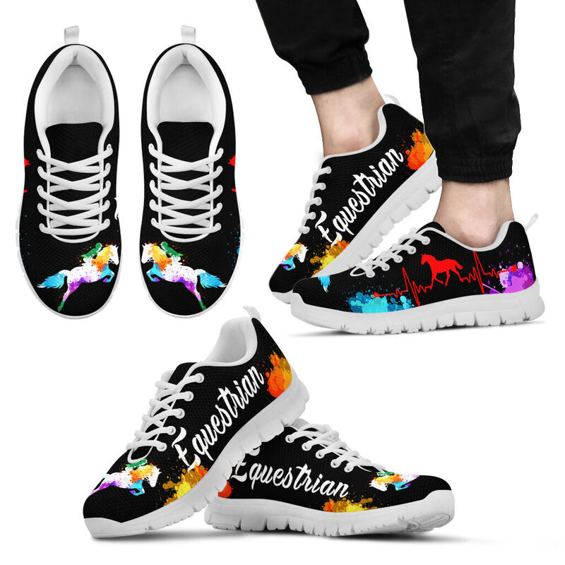EQUESTRIAN ART HB WATERCOLOR SHOES@ summerlifepro equesart3746@sneakers 218403