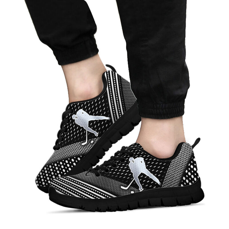 Ice hockey Abstract silver Sneakers - LQT@ summerlifepro Ice656hockey@sneakers 217587