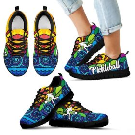 Pickleball Sunpic Shoes Sneakers, Running Shoes, Shoes For Womens, Mens, Custom Shoes, Low Top Shoes, Customized Sneaker