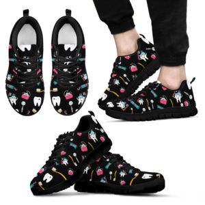 Dental Cute Black Shoes@ limiteditionshoes dental cute black shoes@sneakers 215574