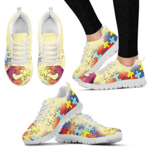 Autism Awareness Support Shoes@ limiteditionshoes autism awareness@sneakers 213432
