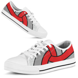 Volleyball ball full low top red gray - LQT@ summerlifepro Volleyball212@low-top 212712