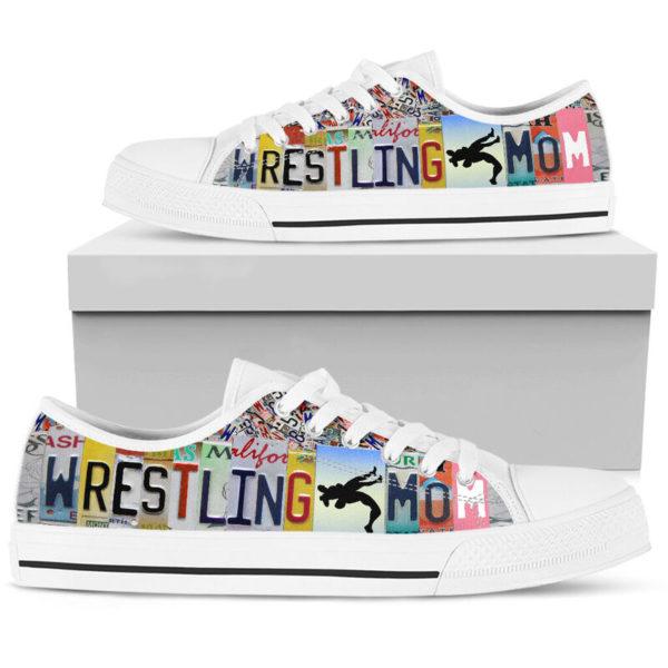 wrestling mom license plates low top@ summerlifepro wrestli387583@low-top 211818