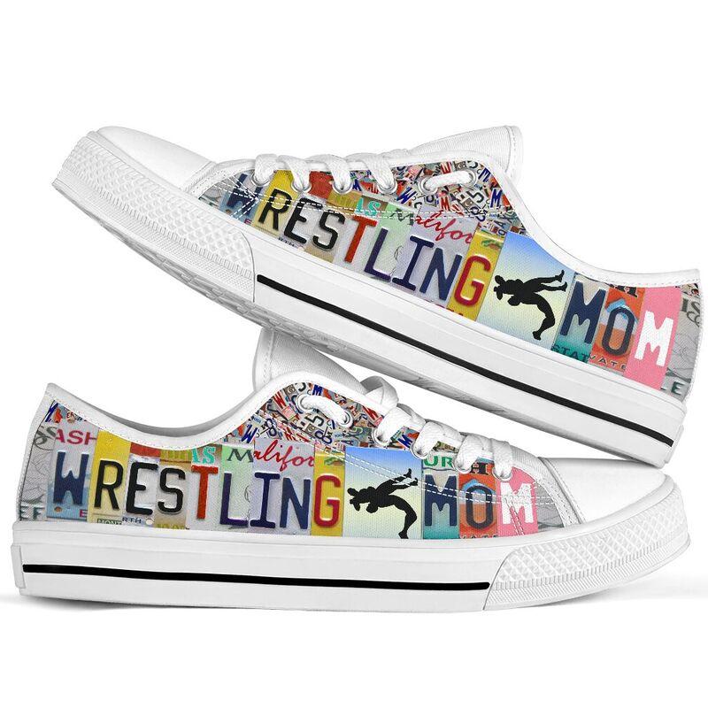 wrestling mom license plates low top@ summerlifepro wrestli387583@low-top 211814