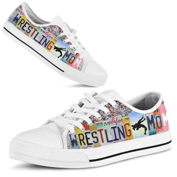 wrestling mom license plates low top@ summerlifepro wrestli387583@low-top 211813