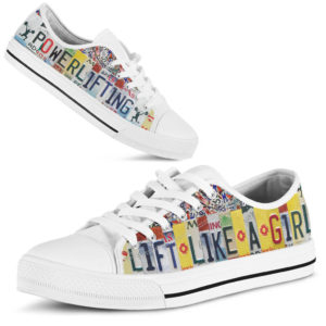 powerlifting lift like a girl license plates low top@ summerlifepro powerliftingd32f3@low-top 211227