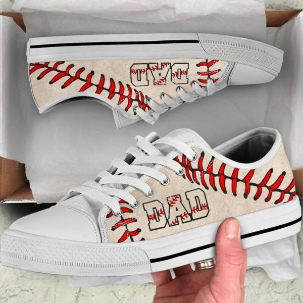 Baseball Dad Low Top@ summerlifepro dsa4366@low-top 211144