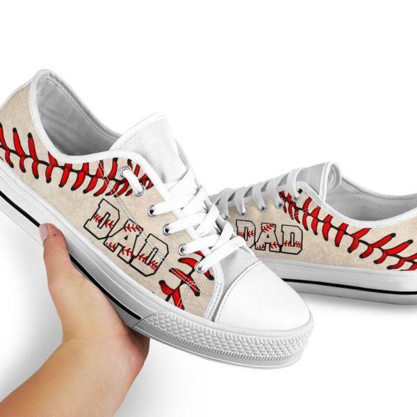 Baseball Dad Low Top@ summerlifepro dsa4366@low-top 211140