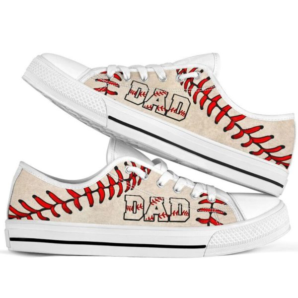 Baseball Dad Low Top@ summerlifepro dsa4366@low-top 211139