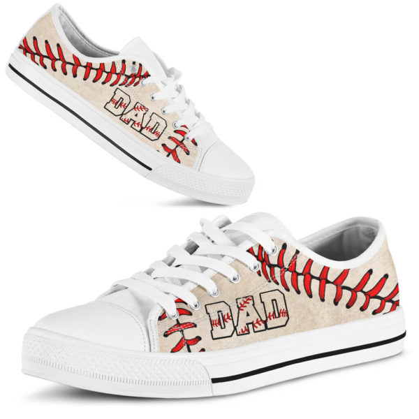 Baseball Dad Low Top@ summerlifepro dsa4366@low-top 211137