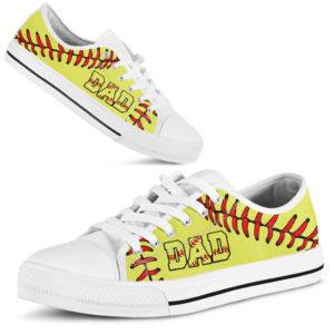 Softball Dad Low Top@ summerlifepro iheji547356@low-top 208218