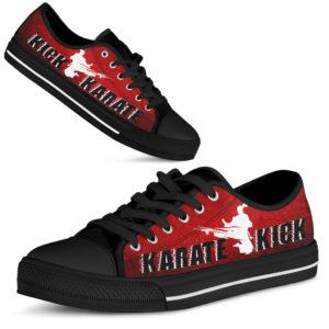 Karate Kick Red Low Top@ summerlifepro kared3758@low-top 207580