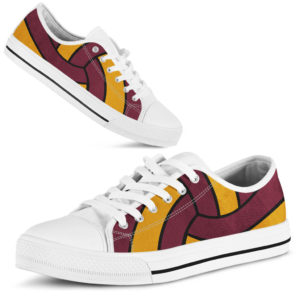 Volleyball ball full low top maroon and gold - LQT@ summerlifepro Volleyball5656@low-top 206951