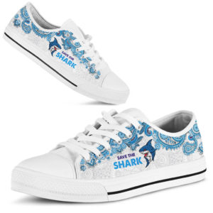 SAVE THE SHARK - SHARK LOW TOP@ zolagifts saveshark@low-top 203208