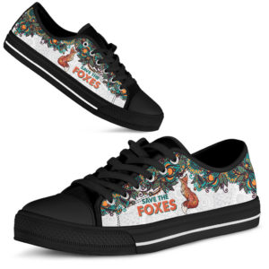 SAVE THE FOXES - FOX LOW TOP@ zolagifts newfoxlowtop@low-top 199563