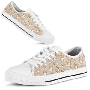 """dt-9 Corgi funny low top shoes@ shoesnp dt 9 Corgi funny low top shoes@low-top"""" 197134"""