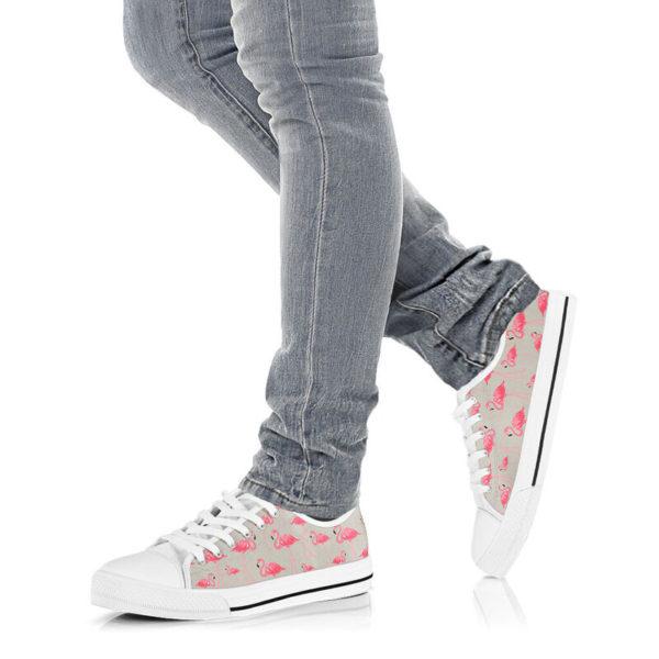 """dt-9 Flamingo funny low top shoes@ shoesnp dt 9 Flamingo funny low top shoes@low-top"""" 196103"""
