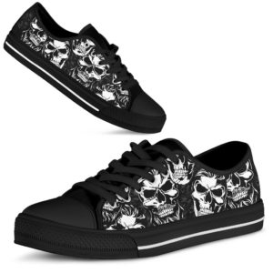 "SKULL SHOES@ lazaart ab1@low-top"" 193803"