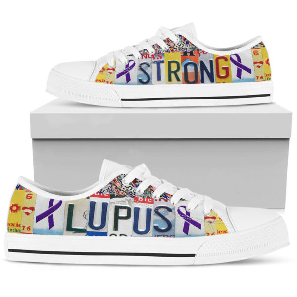 "lupus strong license plates low top@ fightcancerpro gkgo40t9604@low-top"" 185188"
