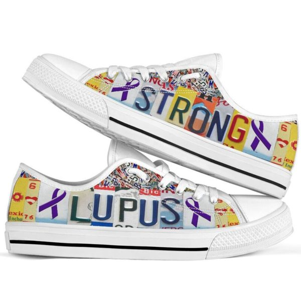 "lupus strong license plates low top@ fightcancerpro gkgo40t9604@low-top"" 185184"