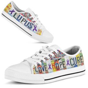"lupus love hope cure license plates low top@ fightcancerpro lupudv5d4v5@low-top"" 183790"