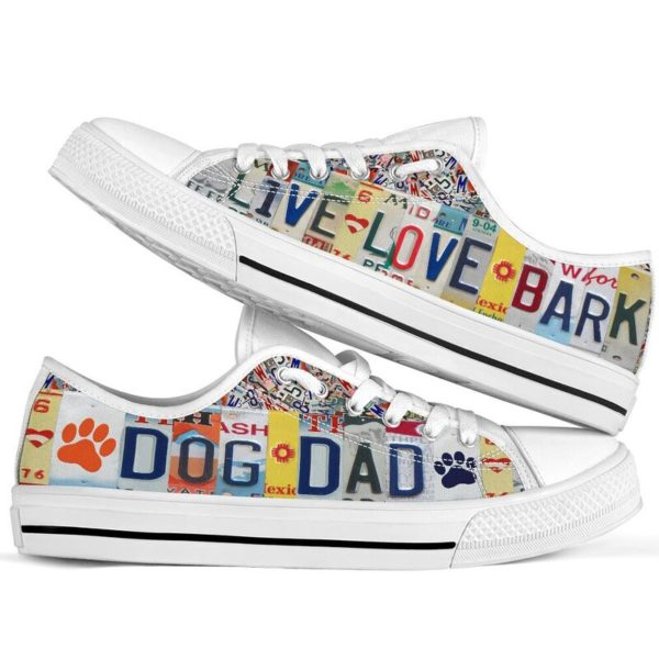 """DOG DAD LIVE LOVE license plates LOW TOP@ animalaholic DOG757@low-top"""" 182532"""