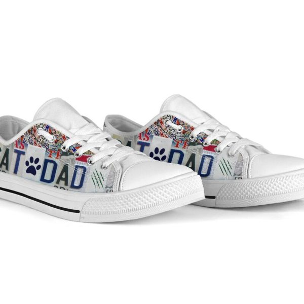 CAT DAD LIVE LOVE RESCUE license plates LOW TOP@ animalaholic CATSDF5@low-top 181230